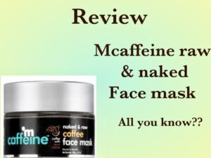 mCaffeine Face Mask