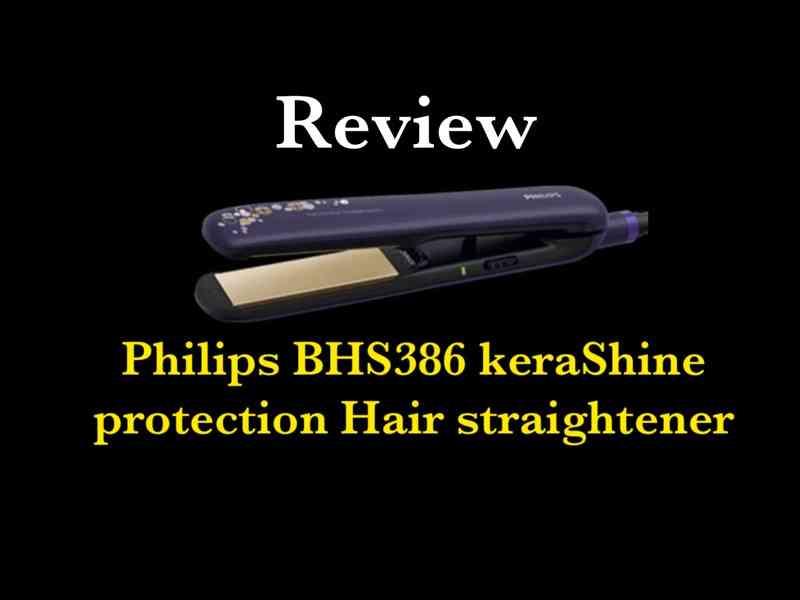 KeraShine Protection Hair Straightener