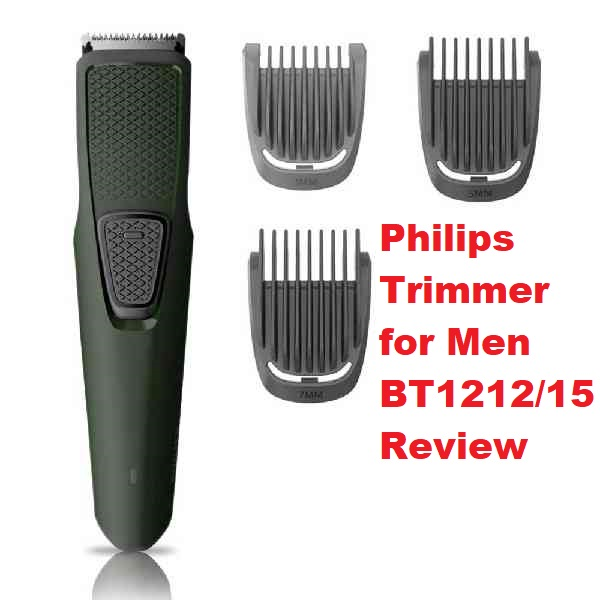 Philips Trimmer for Men - BT1212/15 - Review