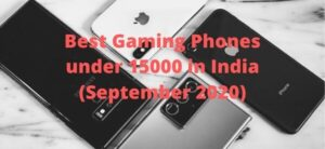 best gaming phones under 15000 in india