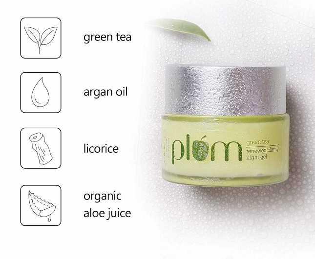 Plum Green Tea Night Gel Review