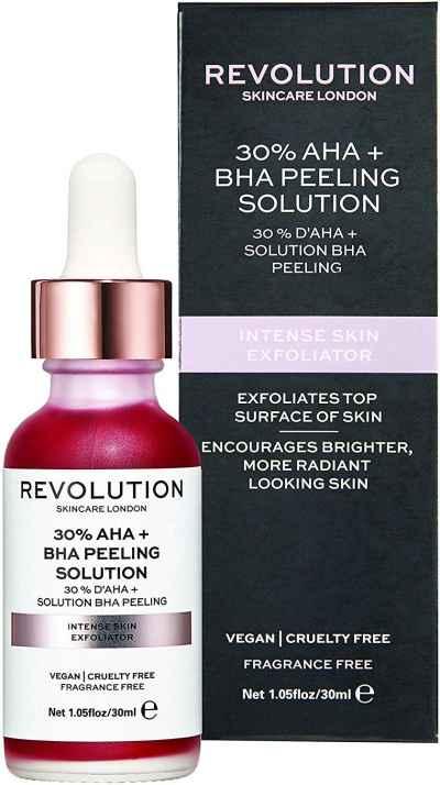 Chemical Peel at Home - Revolution Skincare Solution Intense Skin Exfoliator Chemical Peel at Home
